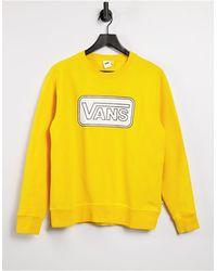 Vans Make Me Your Own Sweatshirt - Yellow