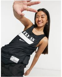 Nike Basketball Fly Logo Vest - Black