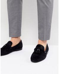 ALDO - Mccrery Dress Loafers In Black Suede - Lyst