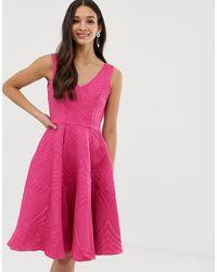 Closet Пышное Платье На Подкладке Closet-розовый