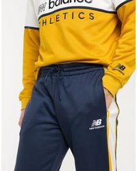 New Balance Joggers blu navy con logo