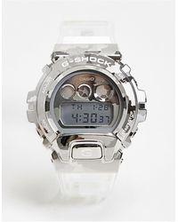G-Shock Цифровые Часы В Стиле Унисекс С Прозрачным Ремешком G-shock Gm-6900scm-1er-прозрачный - Металлик