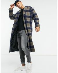 Another Influence Longline Sherpa Coat - Multicolour