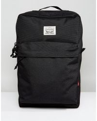 Levi's - Levi's Backpack In Black - Lyst