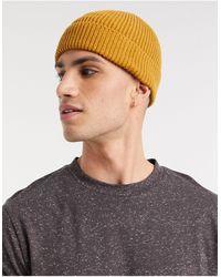 ASOS Bonnet style pêcheur - Moutarde - Jaune