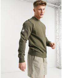 Pretty Green Standards - Sweat-shirt ras - Vert