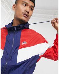 Nike Сине-красная Куртка Heritage Essentials-темно-синий