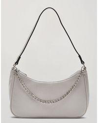 Miss Selfridge Shoulder Bag - Grey