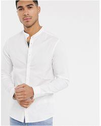 ASOS Stretch Skinny Fit Shirt - White