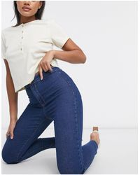 Bershka jegging Medium Blue