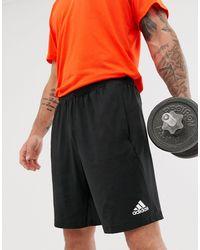 adidas Originals Черные Шорты Adidas Training-черный