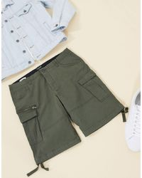 Jack & Jones Intelligence – Cargo-Shorts - Grün