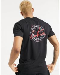 The Couture Club - Slim Fit New Stamp T-shirt With Back Print - Lyst