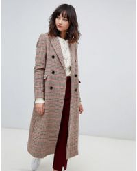 2nd Day - 2ndday Check Tailored Coat - Lyst