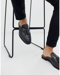 House Of Hounds Bardin Slip On Tassel Loafers - Black