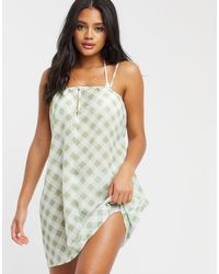 Missguided Mesh Beach Cover Up Dress - Multicolour