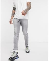 Mennace - Jeans skinny grigi - Lyst