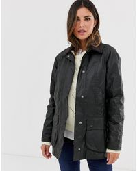 Barbour Beadnell Wax Jacket-green - Multicolour