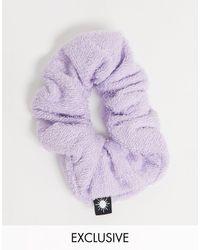 Collusion Сиреневая Резинка Для Волос Из Махровой Ткани -фиолетовый Цвет - Пурпурный