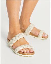 South Beach – sandalen - Weiß