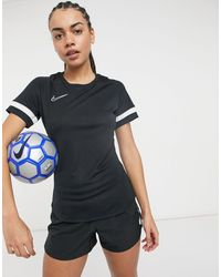 Nike Football – Academy Dry – T-Shirt - Schwarz