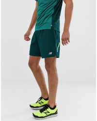 Verde Running Pantalones Pulgadas Cortos Jade Impact De 7 DWE29HI