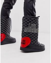 Love Moschino Botas - Negro