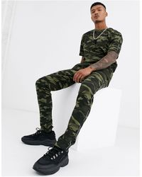 Good For Nothing Slim Fit joggers - Green