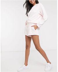 Rip Curl Organic Co - Ord Fleece Short - Purple