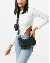 Steve Madden Bleslie Crossbody Bag With Detachable Compartment - Black