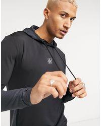 SIKSILK Advanced Tech Muscle Fit Hoodie - Multicolor