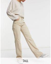 Stradivarius Tall - Dad Jeans - Naturel