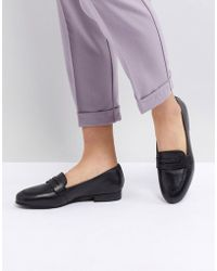 ASOS - Manhatten Leather Loafers - Lyst