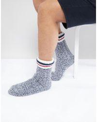 Original Penguin Slipper Socks - Blue