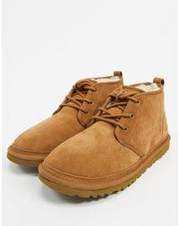 UGG Коричневые Ботинки Чукка Neumel-коричневый