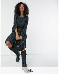 Y.A.S - Y.a.s. Tall Jamila Fluted Sleeve Midi Dress - Lyst