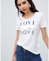 BOSS by Hugo Boss - Love Logo T-shirt - Lyst