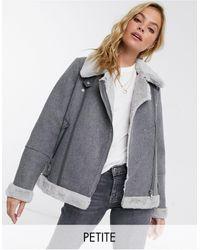 Vero Moda Aviator Jacket - Gray