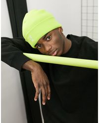 Kangol Pull On Logo Beanie Hat - Green