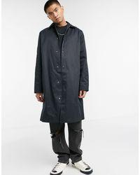 ASOS Oversized Trench Coat - Black