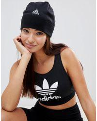 adidas - Running Beanie In Black - Lyst