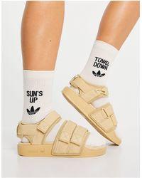 adidas Originals Adilette Sandals - Natural