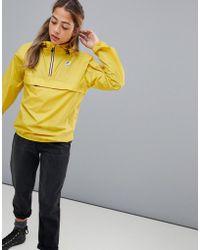 K-Way - Yellow Mustard Le Vrai Leon 3.0 Jacket - Lyst