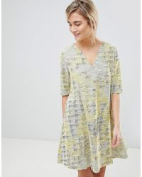 See U Soon - Dress In Tapestry Weave Fabric - Lyst