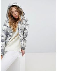 Hollister - Padded Jacket With Hood - Lyst