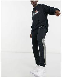 Ellesse Ross Colourblock joggers - Black