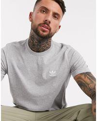 adidas Originals - Серая Футболка Essentials-серый - Lyst