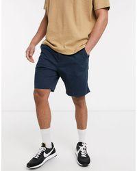 Esprit Slim Fit Chino Short - Blue