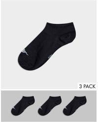 Kappa 3-pack Low Cut Trainer Socks-black
