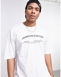 Jameson Carter Taylor Oversize T-shirt - White